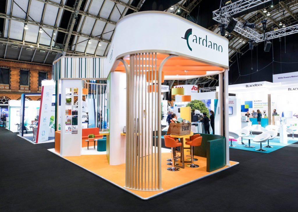 Stand Designs Make Impact at PLSA