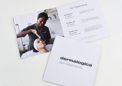 Dermalogica   Treatment Menu Brochure
