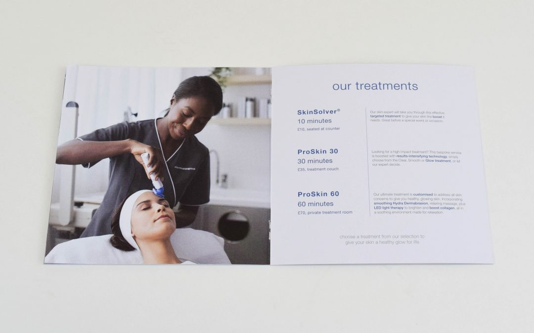 Dermalogica | Treatment Menu Brochure